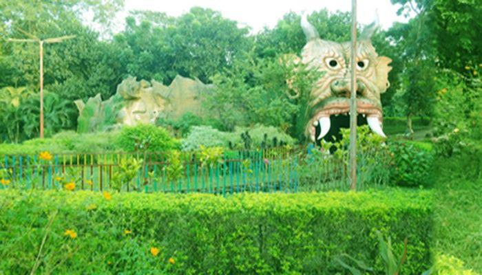 ঠাকুরগাঁওয়ে অবস্থিত ফানসিটি শিশু পার্কে চমৎকার পরিবেশে শিশুদের রাইডের ব্যবস্থা। ছবি: সংগৃহীত