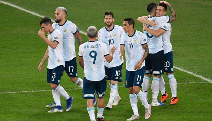 আর্জেন্টিনা জাতীয় ফুটবল দলের কয়েকজন সদস্য। ছবি: সংগৃহীত