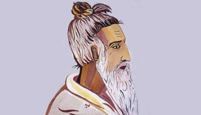 বাউল সম্রাট লালন শাহ'র প্রতিকৃতি।