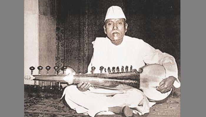 ওস্তাদ আলাউদ্দিন খাঁ।