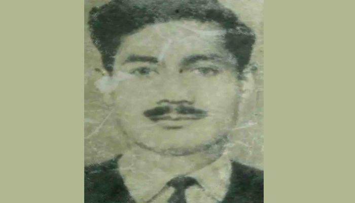 শহীদ মুক্তিযোদ্ধা ক্যাপ্টেন আনোয়ার হোসেন। ছবি: সাম্প্রতিক দেশকাল