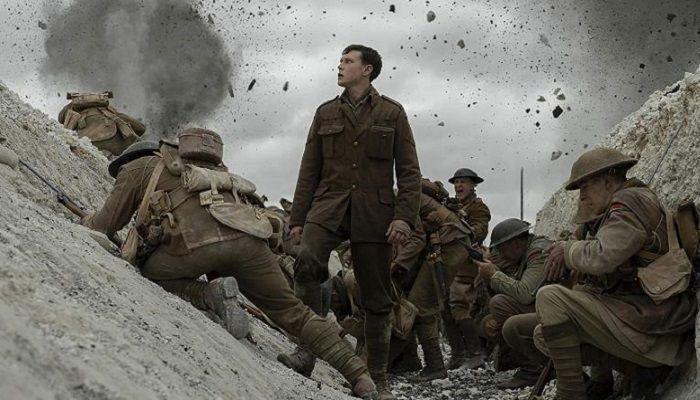 এবার সেরা চলচ্চিত্র হয়েছে ব্রিটিশ চলচ্চিত্রকার সাম মেন্ডেনস যুদ্ধের ছবি '১৯১৭'। ছবি: বিবিসি