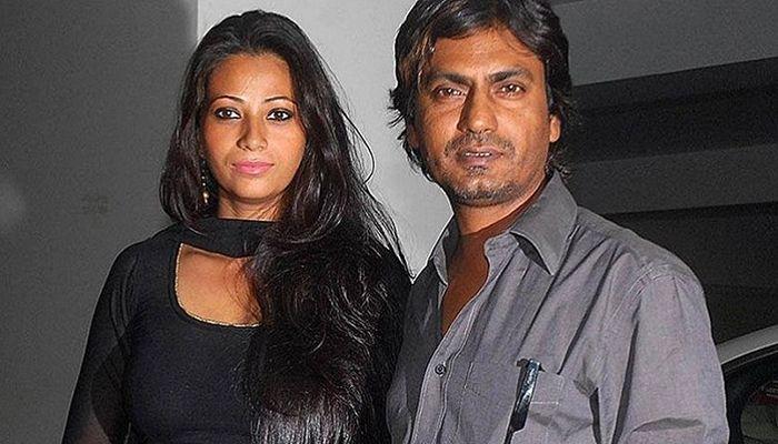 নওয়াজউদ্দিন সিদ্দিকী ও তার স্ত্রী আলিয়া সিদ্দিকী।
