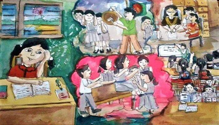 গঙ্গাফড়িংয়ের সাংস্কৃতিক প্রতিযোগিতা