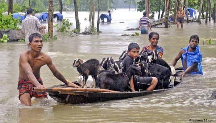 ঢাকাসহ ১৩ জেলায় বন্যা পরিস্থিতির অবনতির আশংকা