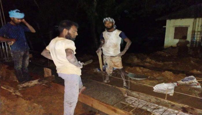 দীঘিনালায় হাসাপাতাল নির্মাণে অনিয়ম