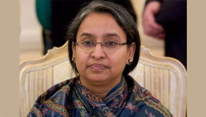 শিক্ষামন্ত্রী ডা. দীপু মনি। ফাইল ছবি
