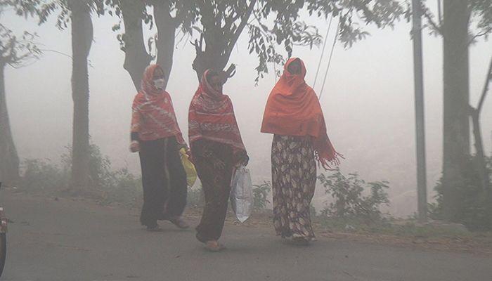 নওগাঁসহ দেশের কয়েকটি অঞ্চলে মৃদু শৈত্যপ্রবাহ চলছে। ছবি: স্টার মেইল