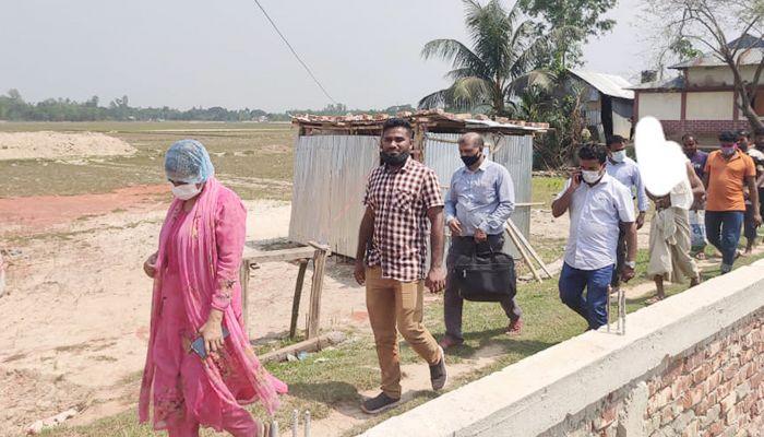 বাহুবল উপজেলা নির্বাহী অফিসার স্নিগ্ধা তালুকদার। ছবি: হবিগঞ্জ প্রতিনিধি