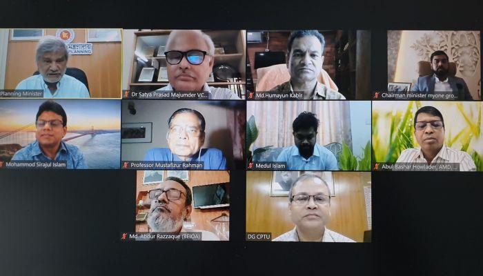 'শিল্পায়নে বাংলাদেশ' শীর্ষক এক ওয়েবিনারে বক্তারা