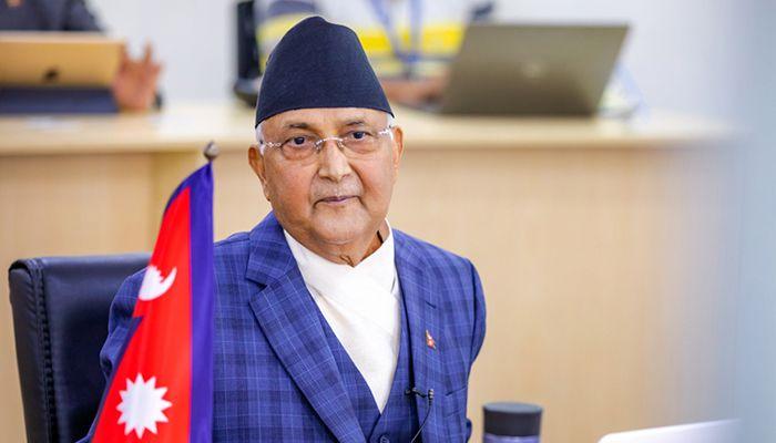 নেপালের প্রধানমন্ত্রী কেপি শর্মা ওলি।
