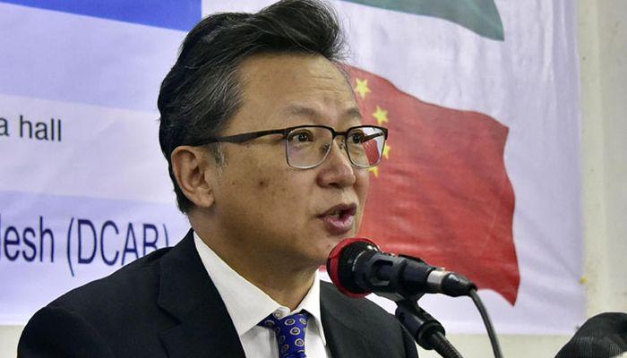 ঢাকায় নিযুক্ত চীনের রাষ্ট্রদূত লি জিমিং।