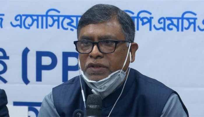 স্বাস্থ্য ও পরিবার কল্যাণমন্ত্রী জাহিদ মালেক।