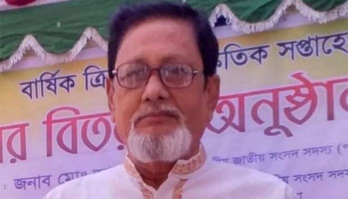 রাজশাহী-৩ আসনের সাবেক সংসদ সদস্য মেরাজ উদ্দিন মোল্লা।