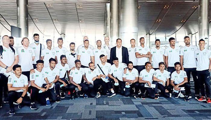 কাতারে বাংলাদেশ ফুটবল দল