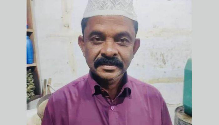 নিহত কাঠ ব্যবসায়ী আবদুল ছাদেক। ছবি: খাগড়াছড়ি প্রতিনিধি