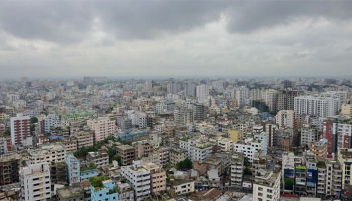 ঢাকা শহর। ফাইল ছবি