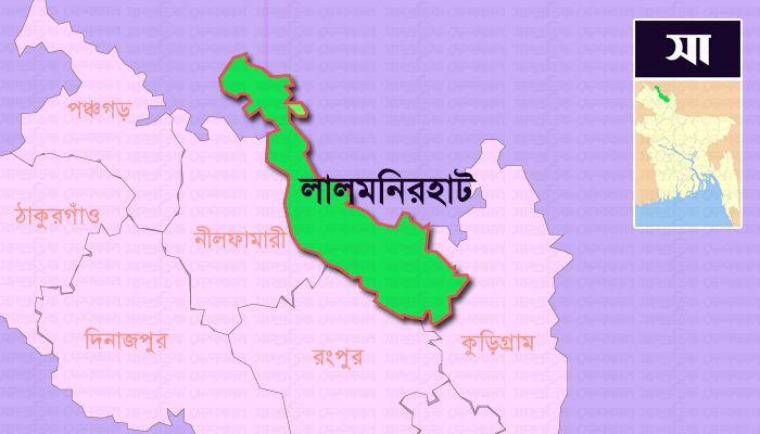 লালমনিরহাট জেলার মানচিত্র