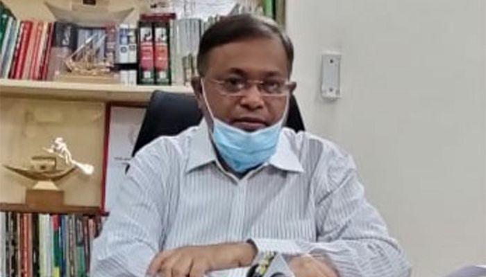 তথ্য ও সম্প্রচারমন্ত্রী ড. হাছান মাহমুদ। ছবি: পিআইডি