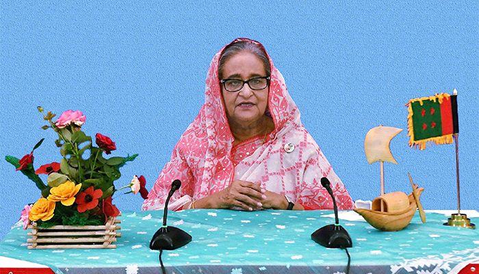 প্রধানমন্ত্রী শেখ হাসিনা।