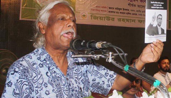 গণস্বাস্থ্যের প্রতিষ্ঠাতা ডা. জাফরুল্লাহ চৌধুরী।