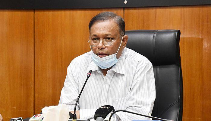 তথ্য ও সম্প্রচার মন্ত্রী ড. হাছান মাহমুদ। ছবি: পিআইডি